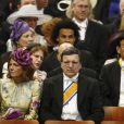 José Manuel Barroso à la prestation de serment du roi Willem-Alexander des Pays-Bas, le 30 avril 2013 à la Nouvelle Eglise (Nieuwe Kerk) d'Amsterdam.