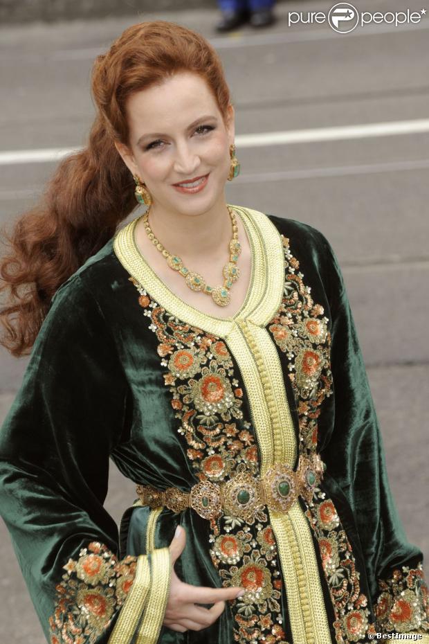 La princesse Lalla Salma du Maroc, épouse du roi Mohammed VI, à la ...