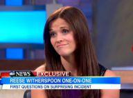 Reese Witherspoon arrêtée : 'J'ai paniqué. J'ai dit des choses dingues'