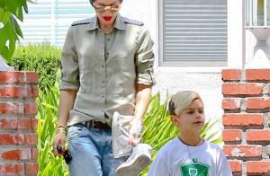 Gwen Stefani et son fils Kingston : En balade, le duo ne néglige jamais son look