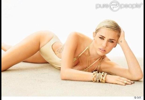 Miley Cyrus a révélé sur Twitter samedi 4 mai 2013, avoir été élue femme la plus hot par le magazine masculin Maxim .