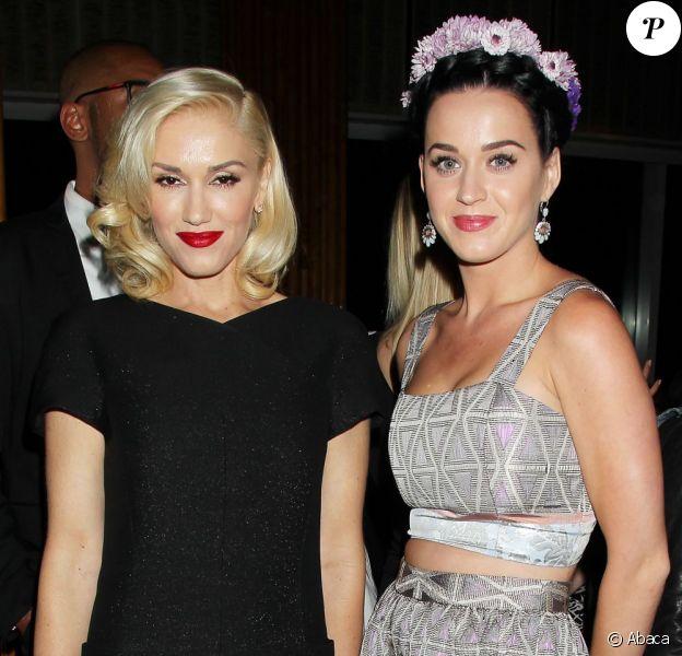Gwen Stefani et Katy Perry posent ensemble lors de l'after-party Gatsby le Magnifique au Standard Hotel de New York le 5 mai 2013.