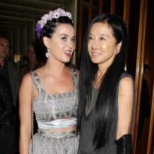 Katy Perry et Vera Wang à l'after-party Gatsby le Magnifique au Standard Hotel de New York le 5 mai 2013.