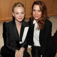 Carey Mulligan et Kristen Wiig lors de l'after-party Gatsby le Magnifique au Standard Hotel de New York le 5 mai 2013.