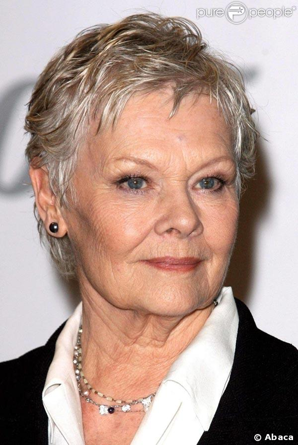 Judi Dench Short Hairstyle How To Cut | hnczcyw.com