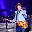 Paul McCartney en concert au stade Mineirão à Belo Horizonte, Brésil, le 4 mai 2013.