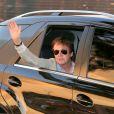 Paul McCartney arrive dans le ville de Goiânia au Brésil, le 6 mai 2013.