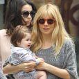 Sienna Miller et sa petite Marlowe, née à l'été 2012
