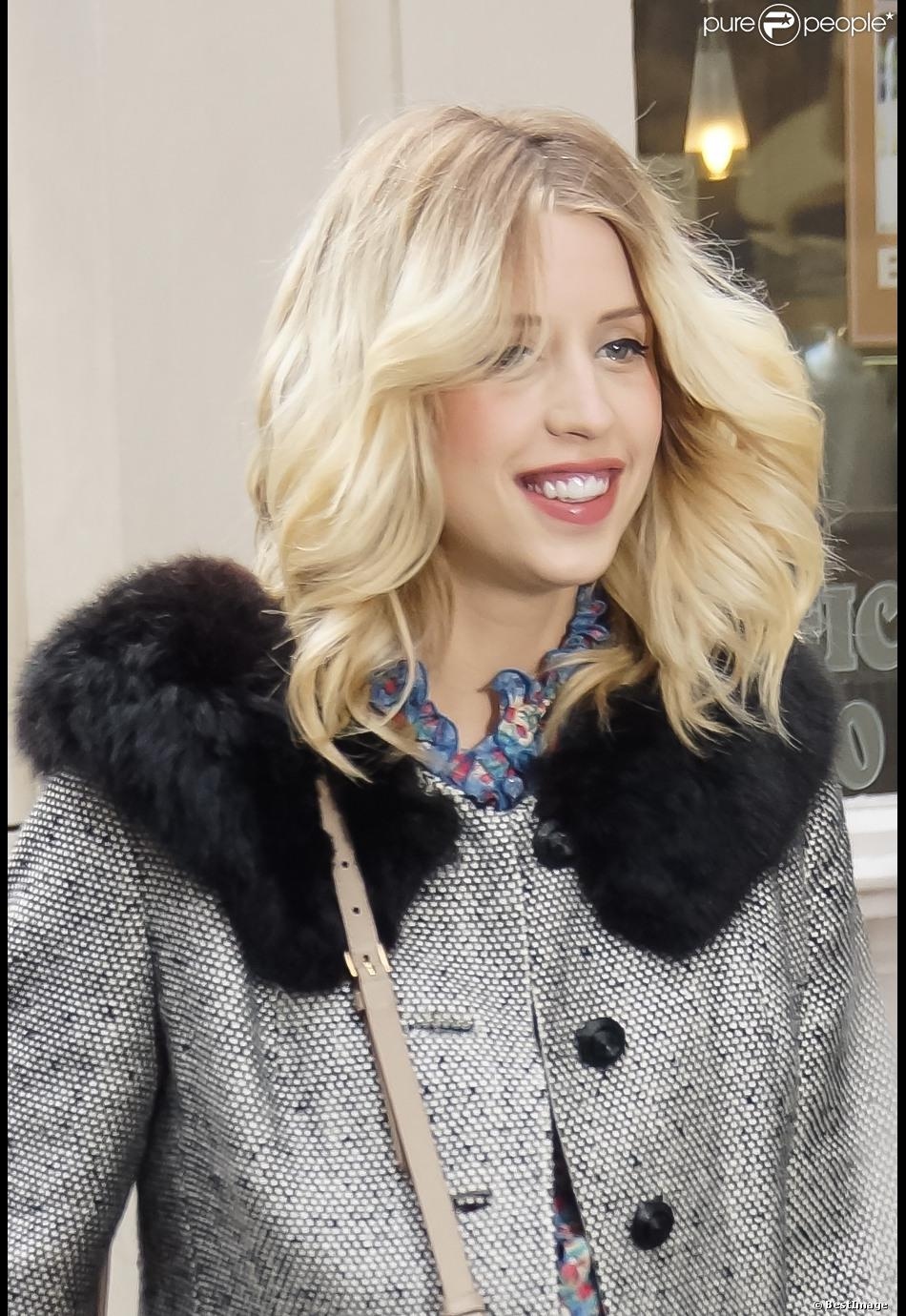 Peaches Geldof à Londres en avril 2013