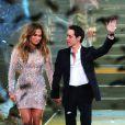 Jennifer Lopez et Marc Anthony le 26 mai 2012 à Los Angeles.