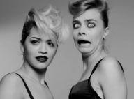 Rita Ora et Cara Delevingne : Déchaînées dans une vidéo punk et sexy