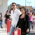Kim Kardashian se rend dans un centre pour suivre un cours de réanimation cardio-pulmonaire avec Scott Disick, le compagnon de sa soeur Kourtney. Los Angeles, le 14 mai 2013.