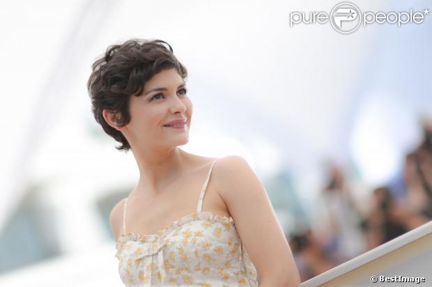Audrey Tautou lors du photocall au 66e Festival du Film de Cannes le 14 mai 2013.