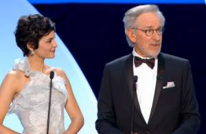 Cannes 2013 : Audrey Tautou lumineuse et Steven Spielberg ovationné en ouverture
