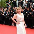 Marilou Berry lors de la montée des marches de Jeune Et Jolie, premier film en compétition, au Palais des Festivals de Cannes, le 16 mai 2013.