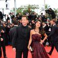 Stephane Rousseau et Reem Kherici à la montée des marches de Jeune Et Jolie, premier film en compétition, au Palais Des Festivals de Cannes, le 16 mai 2013.