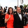 Antoine Duléry pour la montée des marches de Jeune Et Jolie, premier film en compétition, au Palais des Festivals de Cannes, le 16 mai 2013.