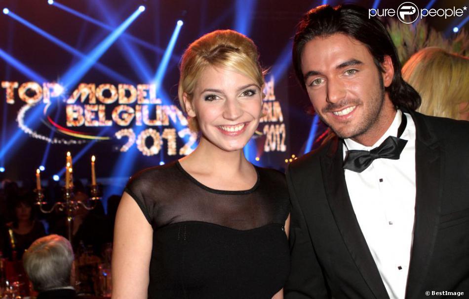 EXCLU - Thomas et Nadège de Secret Story 6, à Charleroi le 15 décembre 2012 pour l'élection Top Model Belgium 2012 au Spiroudome