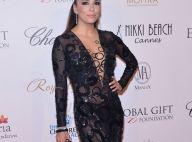Eva Longoria : Sexy en transparence ou caliente en minishort au Global Gift Gala