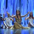 Selena Gomez sur la scène des Billboard Music Awards à Las Vegas, le 19 mai 2013.