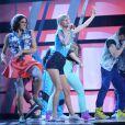 Taylor Swift sur la scène des Billboard Music Awards à Las Vegas, le 19 mai 2013.
