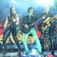 Prince sur la scène des Billboard Music Awards à Las Vegas, le 19 mai 2013.