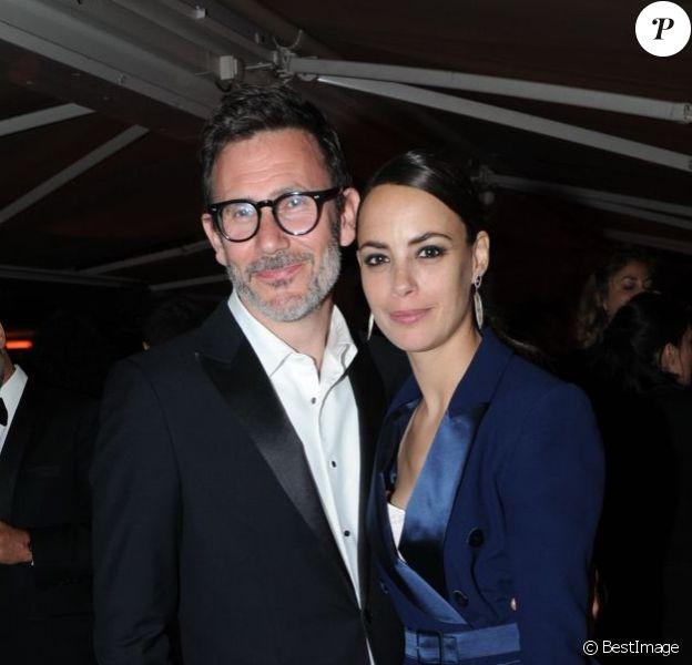 Exclusif - Bérénice Bejo et son compagnon Michel Hazanavicius lors de la soirée Magnum qui s'est déroulée après la présentation du film Le Passé au Festival de Cannes le 17 mai 2013