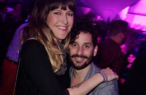 Daphné Bürki, enceinte et fêtarde, avec son amoureux Gunther Love à Cannes