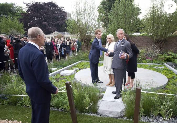 Le prince harry a accueilli la famille royale avec la for Au jardin de la famille de fabreville