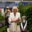 Camilla Parker Bowles au Chelsea Flower Show, lors de la journée d'inauguration VIP de l'exposition, le 20 mai 2013 à Londres.