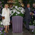 Le prince Charles et Camilla Parker Bowles à l'inauguration du Chelsea Flower Show, le 20 mai 2013 à Londres.
