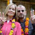 Ringo Starr et Barbara Bach à l'inauguration du Chelsea Flower Show, le 20 mai 2013 à Londres.