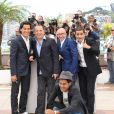 "Jamel Debbouze, Tewfik Jallab, Mohamed Hamidi, Fatsah Bouyamed et Malik Benthala (Montre Baume et Mercier) - Photocall du film ""Ne quelque part"" au 66 eme Festival du Film de Cannes - Cannes 21/05/2013  Call for the movie ""Ne quelque part"" at the 66 th Cannes Film Festival. On may 21st 201321/05/2013 - Cannes"