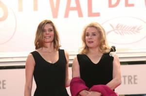 Cannes 2013 : Chiara Mastroianni et Catherine Deneuve, mère et fille radieuses