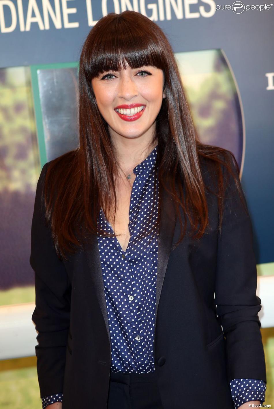 Nolwenn Leroy à la soirée de lancement du Prix de Diane Longines 2013 au Pavillon Gabriel, le 22 mai 2013.