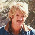 ARCHIVES -Robert Redford sur le tournage du film Le Cavalier électrique 8 janvier 1980
