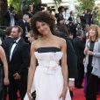 """Stéfi Celma - Montée des marches du film """"Nebraska"""" du réalisateur Alexander Payne, présenté en compétition, lors du 66e Festival de Cannes, le 23 mai 2013."""