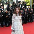 """Elsa Zylberstein - Montée des marches du film """"Nebraska"""" du réalisateur Alexander Payne, présenté en compétition, lors du 66e Festival de Cannes, le 23 mai 2013."""