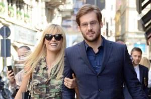 Michelle Hunziker enceinte : Sortie gourmande avec son baby bump et son fiancé