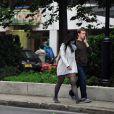 Mark Zuckerberg et Priscilla Chan se promènent dans les rues de Budapest en Hongrie, le 28 mai 2013.