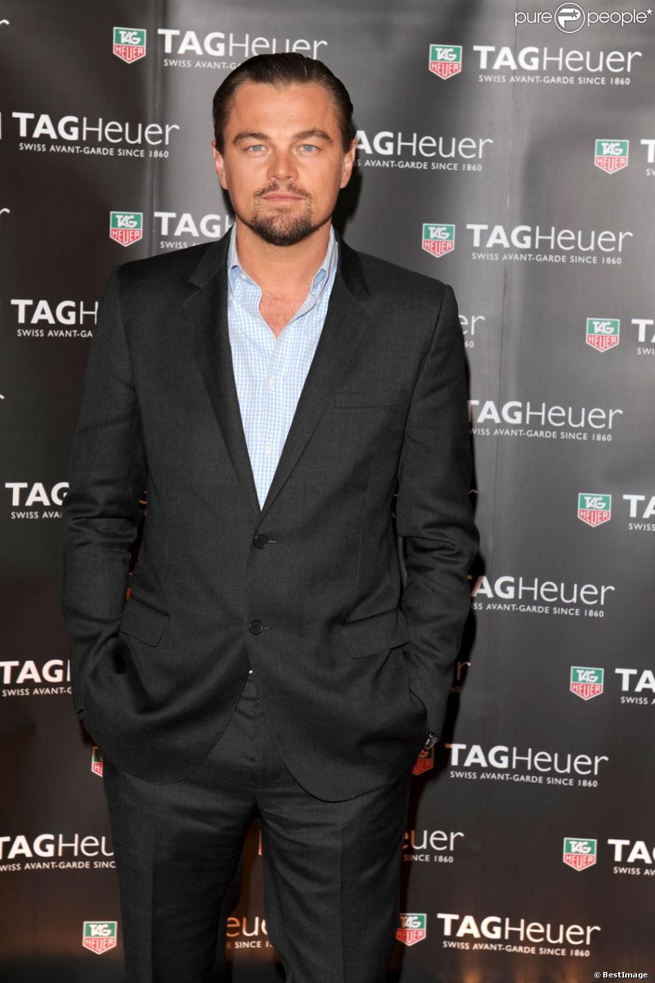 Leonardo DiCaprio lors de la soirée Tag Heuer à Monte-Carlo le 25 mai 2013