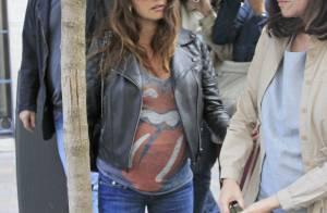 Penélope Cruz, enceinte : Look rock pour la star, peu avant son accouchement