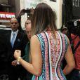 Khloé Kardashian quitte les studios de NBC après son apparition dans l'émission Today. New York, le 29 mai 2013.