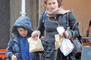 Helena Bonham Carter : L'actrice et son fils succombent aux gourmandises
