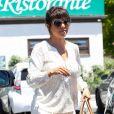 Kourtney Kardashian à Malibu, le 29 mai 2013.