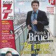 Patrick Bruel en couverture de Télé 7 Jours