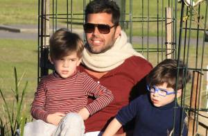 Ricky Martin et ses jumeaux : Un papa attentionné et complice !
