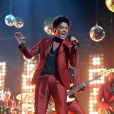 Bruno Mars sur la scène des Billboard Music Awards au MGM Grand Garden Arena de Las Vegas, le 19 mai 2013.