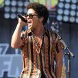 Bruno Mars lors du concert  KIIS FM Wango Tango  à Carson, en Californie, le 11 mai 2013.
