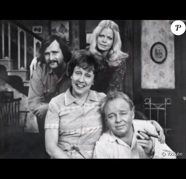Jean Stapleton dans la série All in the family.